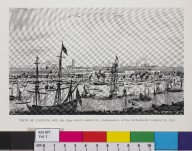 View of Canton, with the ships which carried the Ambassadors of the Netherlands Company in 1655
