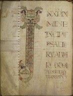 Incipt to the Psalter of St. Maximin