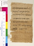 Letter from Dioscurides to Zenon