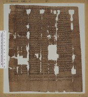 Letter from Besodorus to Theophanes