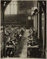 Examination in progress in the Whitworth Hall