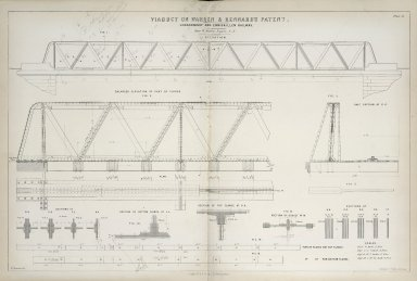 Viaduct on Warren & Kennard's Patent (Londonderry and Enniskillen Railway)