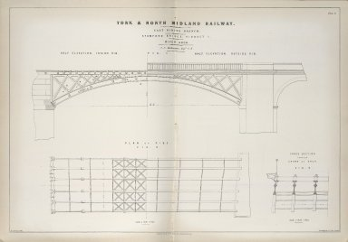 Stamford Bridge, Viaduct 1: River Arch (York & North Midland Railway)