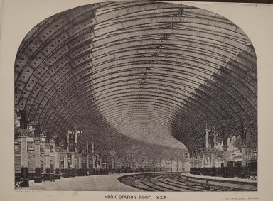 York Station roof, N.E.R.