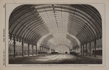 Paddington Station of the Great Western Railway