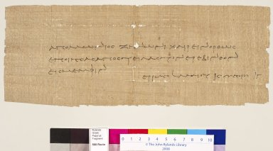 Letter from Apollonius to Zenon