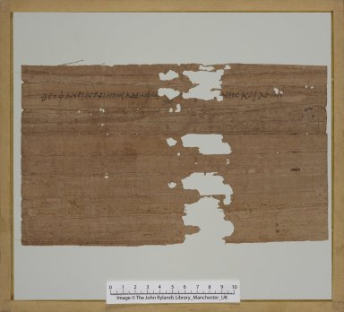 Letter from John and Leon to Theophanes