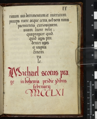 Michael Scot's Introduction to the Latin translation of the 'Arabic' text