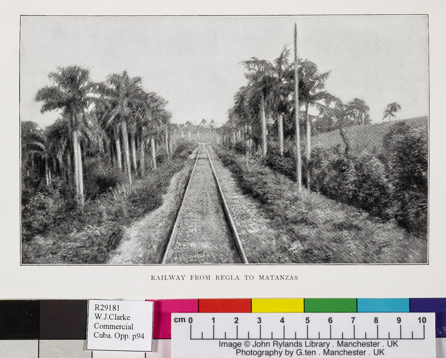 Railway from Regla to Matanzas
